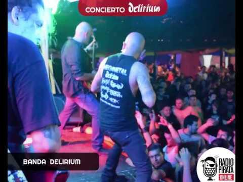 Concierto DELIRIUM en Tegucigalpa
