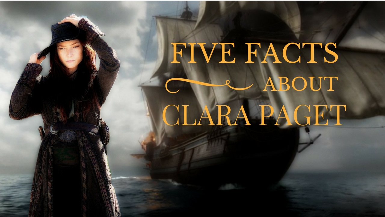 meet the actor: clara paget (anne bonny from black sails) - youtube