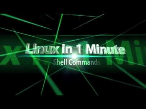 18Linux in 1 MinuteJobs Backgroundjobs, fg and bg