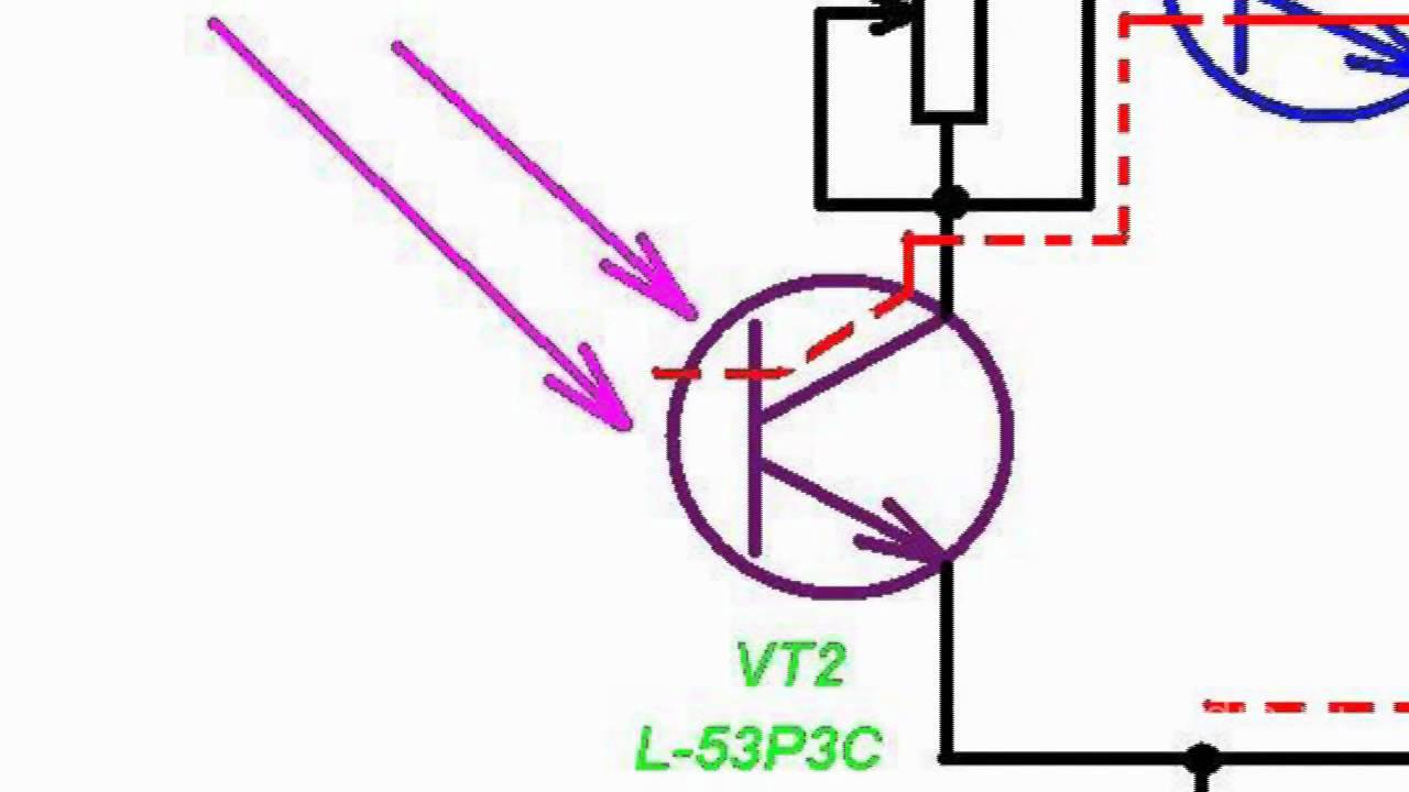 реле регулятор на одном транзисторе схема