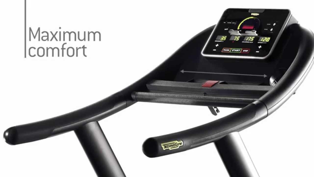 Technogym jog forma treadmill youtube for Technogym all in one