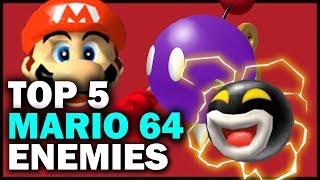Top 5 Enemies From Super Mario 64