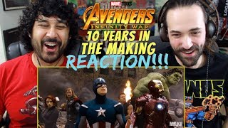 AVENGERS: INFINITY WAR - 10 Years In The Making (Tribute) - REACTION & ANALYSIS!!!