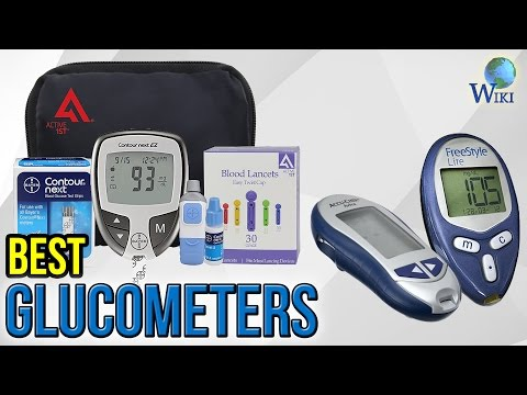 8 Best Glucometers 2017