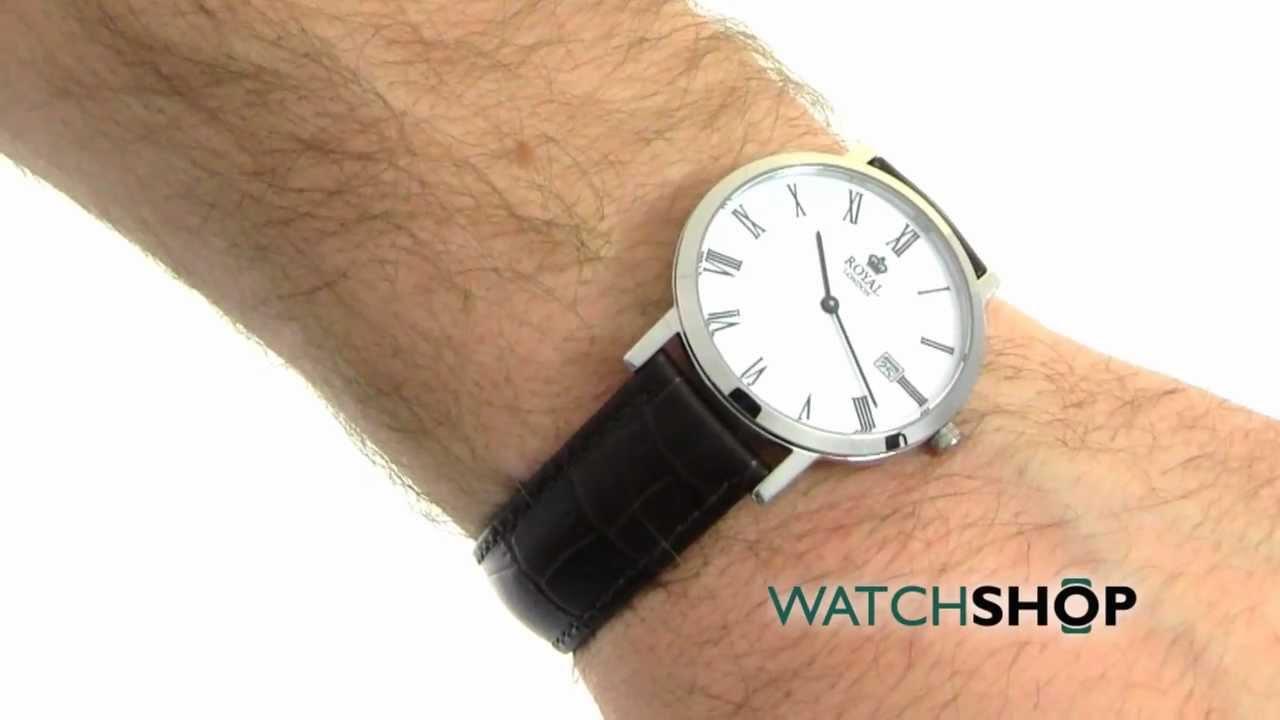 Men\u0027s Royal London Watch (40007-01) - YouTube