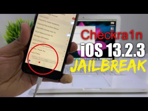 iOS 13.2.3 Jailbreak - Checkra1n