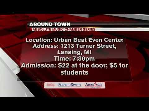 Around Town 3/21/18: Absolute Music Chamber Series