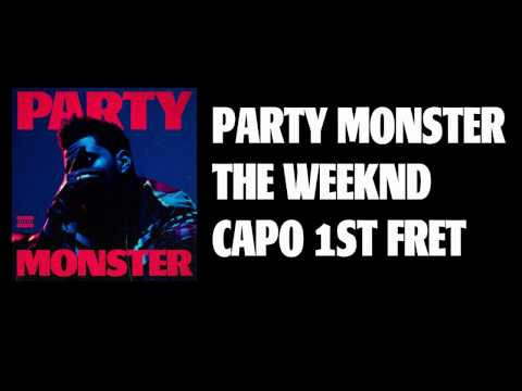 party monster the weeknd lyrics and chords