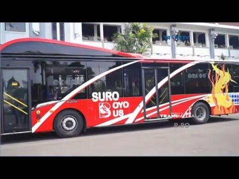 Risma Jajal Bus Masa Depan Surabaya, Suroboyo Bus