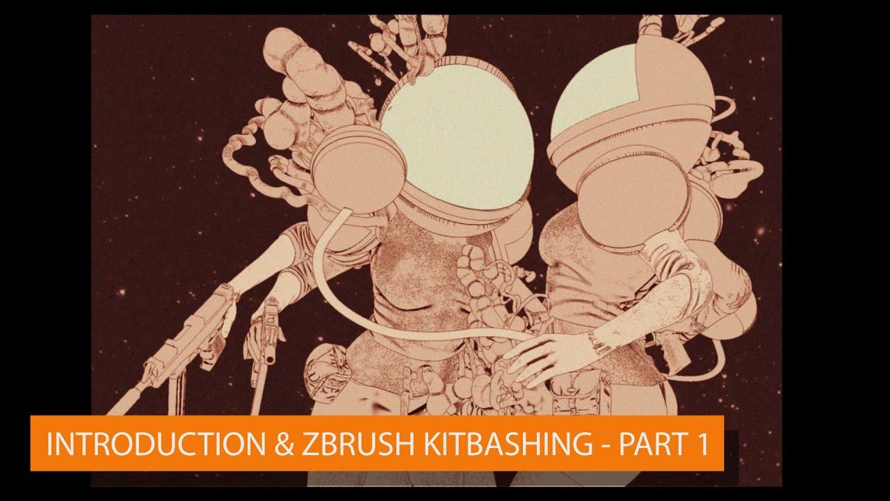 John Mahoney: Intro & ZBrush Kitbashing - Part 1