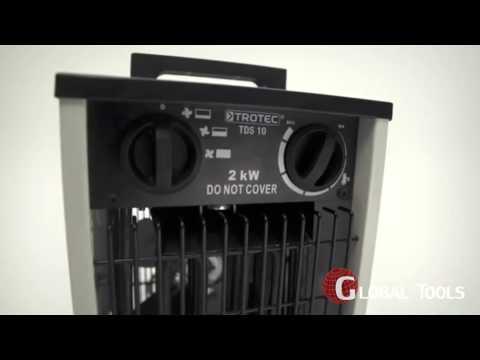 Електрически калорифер TROTEC TDS 10 #uD3l7WqtHNo