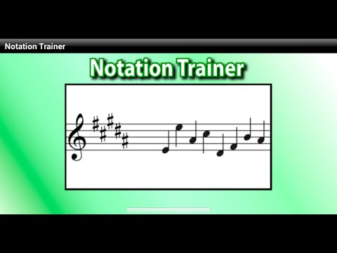Notation app - Notation Trainer - Sight-reading Android app
