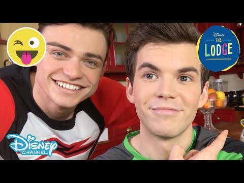 The Lodge   Sean And Ben Blooper Reel 😂    Official Disney Channel UK