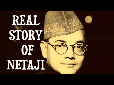 DEATH CONSPIRACY OF NETAJI SUBHASH CHANDRA BOSE DIED OR LEAVED