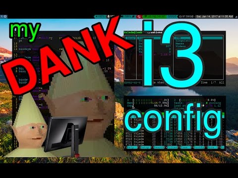 i3 Arch Linux config and rice (DANK edition)