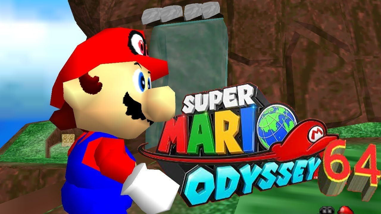 Modders are remaking Super Mario Odyssey in Mario 64's engine
