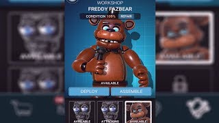 BUILDING MY VERY OWN FREDDY FAZBEAR   FNAF AR: Special Delivery Gameplay Part 2