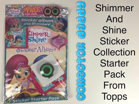 Shimmer and Shine Sticker Album Starter Pack