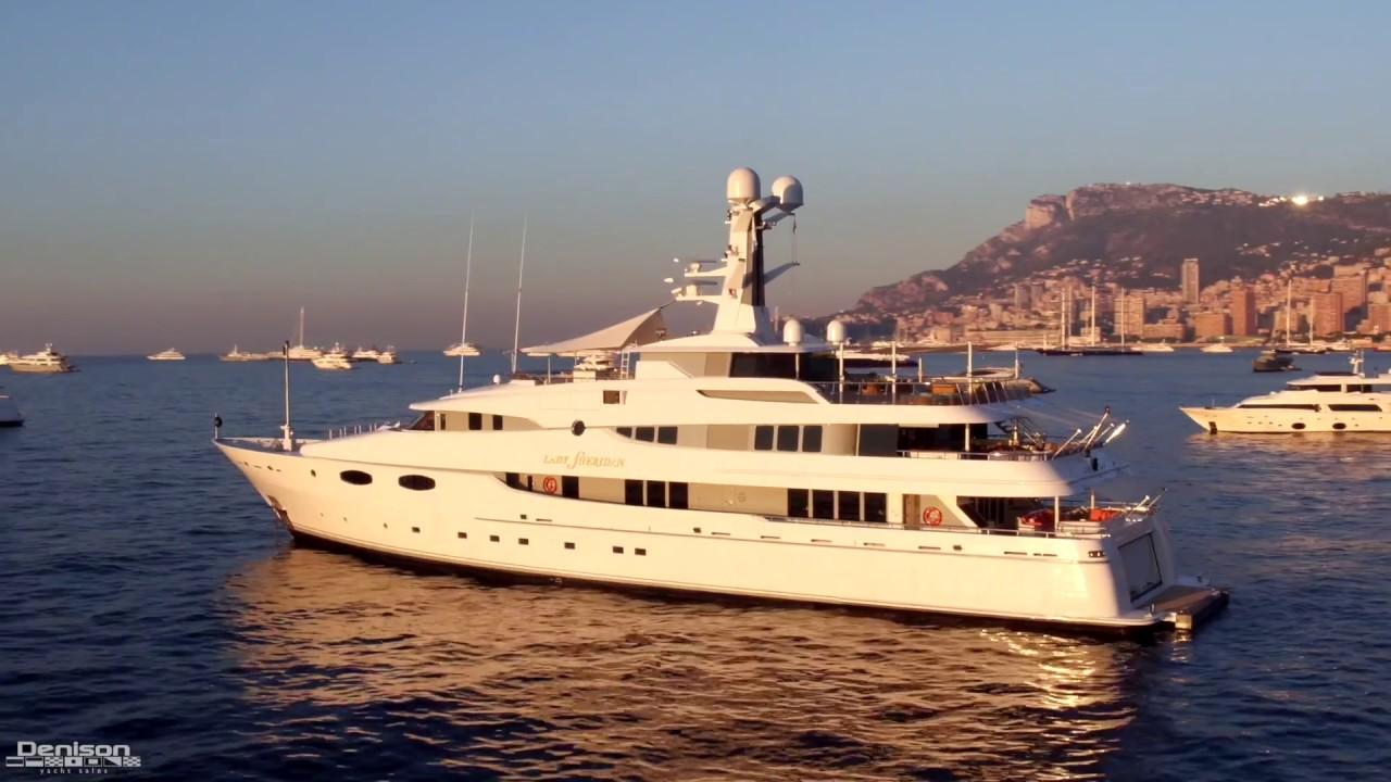 Monaco Yacht Show Feat. 'Lady Sheridan'