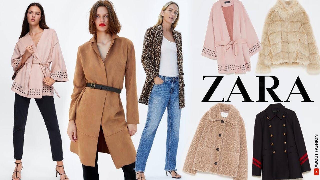 comprar online f4974 fec19 ABRIGOS de ZARA de MODA MUJER | Nuevas Tendencias en Cazadoras para Otoño e  Invierno 2019 2020
