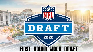 2020 NFL First Round Mock Draft Version 1.0