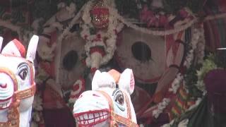 Darshan of Lord Jagannatha infront of Gundicha Temple...Puri rathayatra 2014