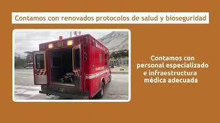 Aplicamos renovados protocolos de salud y bioseguridad
