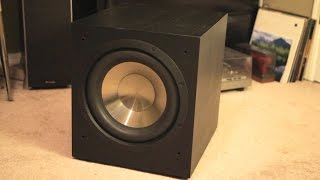 The Bic F12 is the best cheap subwoofer! Review, demonstration, thoughts..