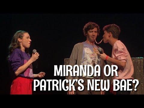 MIRANDA SINGS BREAKS CHARACTER IN AMSTERDAM!