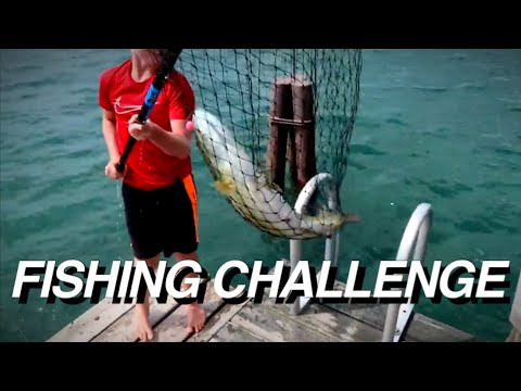 INSANE FISHING CHALLENGE (HUGE BASS)