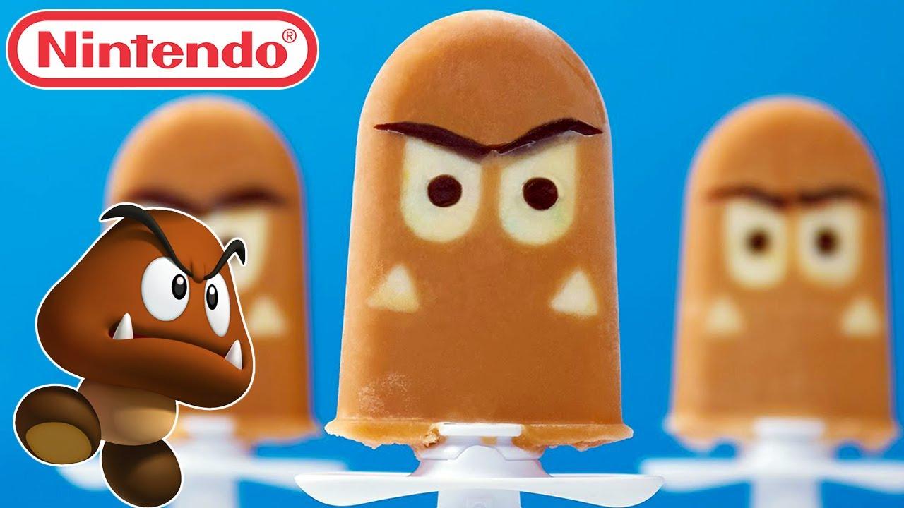 super mario goomba popsicles