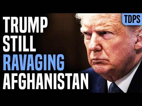 Trump Dropped Record Bombs on Afghanistan