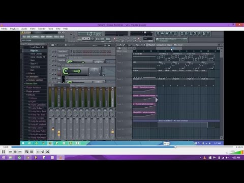 [FL Studio] Future House Tutorial [Free FLP & Samples]