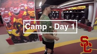 USC Football Fall Camp 2015- Day One