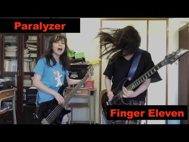 #Paralyzer - Finger Eleven - cover - #フィンガーイレブン