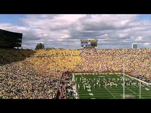 Michigan Stadium Rededication vs. UConn football game 2010