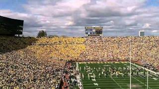 Michigan Stadium Rededication vs. UConn football game 2010