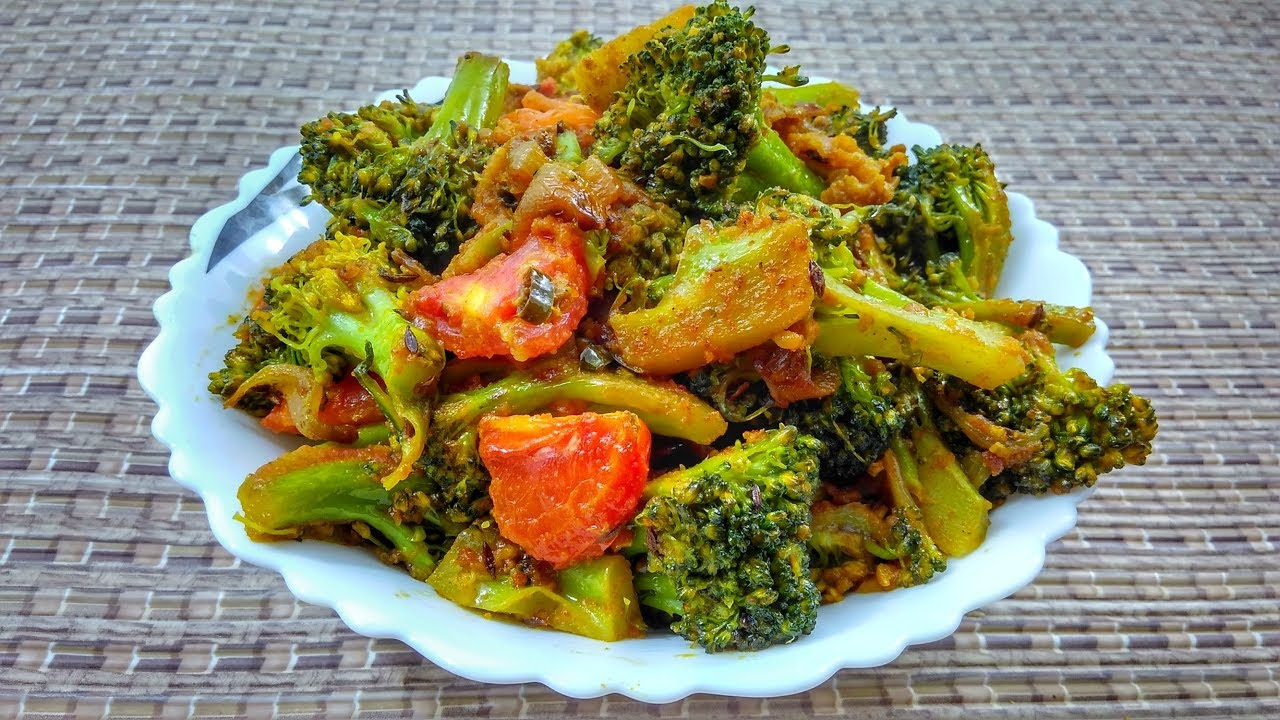 Broccoli Recipe Indian Style In Hindi By Indian Food Made Easy How
