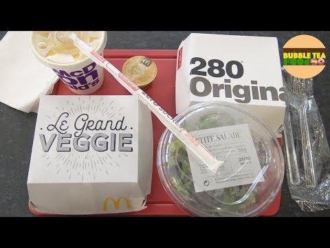 [MCDO] Que vaut le GRAND VEGGIE Mc Donald's ? – Studio Bubble Tea Food fast food