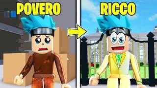 FROM POVERO to RICCO on ROBLOX! 💰 Billionaire Simulator ITA