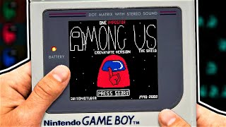 if AMONG US was made for GAMEBOY...