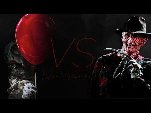 Pennywise VS Freddy Krueger Rap Battle EPIC! (IT VS Nightmare on Elmstreet) ►Daddyphatsnaps