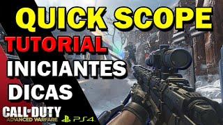 cod advanced warfare tutorial quick scope sniper call of duty aw