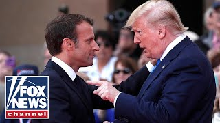Trump, French President Macron clash during meeting at NATO summit