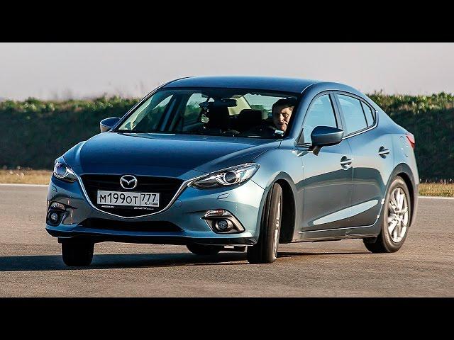 Плюсы и минусы Мазда 3 седан 2016. Обзор Mazda 3 Sedan
