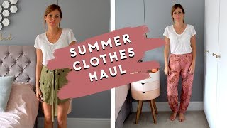 SUMMER TRY ON CLOTHING HAUL 2019 | ZARA, H&M AND ASOS