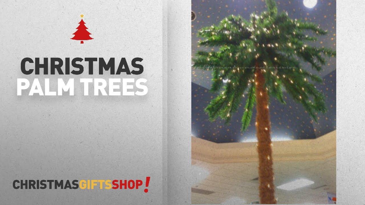 Top 10 Palm Christmas Trees: 7 Foot Lighted -Christmas