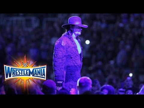 Thumbnail: The Undertaker makes perhaps his final WrestleMania entrance: WrestleMania 33 (WWE Network)