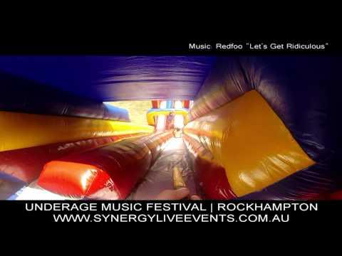 SYNERGY | UNDERAGE MUSIC FESTIVAL | ROCKHAMPTON