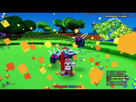 Cube World - 16 Minutes of Mage Gameplay